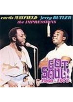 Curtis Mayfield & Jerry Butler/Impressions - Got Soul 1960-1973