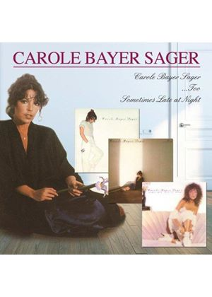 Carole Bayer Sager - Carole Bayer Sager/Too/Sometimes Late at Night (Music CD)