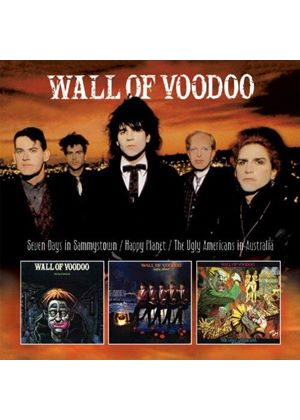 Wall of Voodoo - Seven Days In Sammystown/Happy Planet/The Ugly Americans In Australia (Music CD)