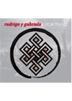 Rodrigo y Gabriela - Live In France (Music CD)