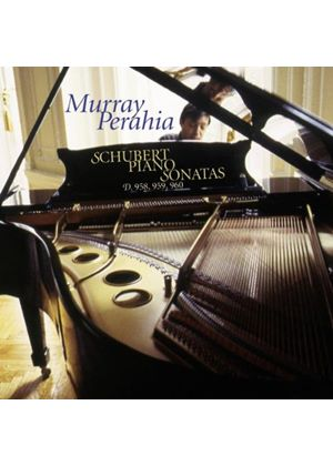 Schubert: Piano Sonatas Nos 19 - 21 (Music CD)