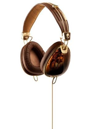 Skullcandy Aviator - brown/gold