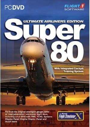Super 80 Ultimate Airliner Edition (PC DVD)