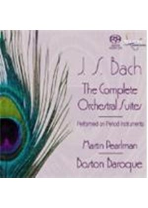 Bach: Complete Orchestral Suites [SACD]