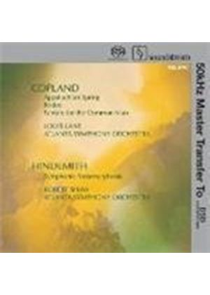 Lane And Shaw/Atlanta Symphony Orche - Copland And Hindemith (Sacd)