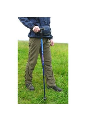 Alloy Hiking Stick With LED Light & Compass 720
