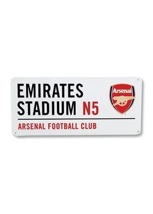Official Arsenal Street Sign