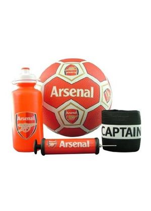 Arsenal Captain Armband Set - Red, White And Blue