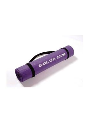 Yoga Sticky Mat Purple with Carry Straps