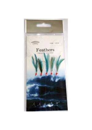 Blue Flash 5 Hook rig Feathers