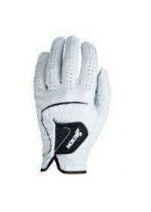Mens Leather Glove White (Small) (X244WHTS)