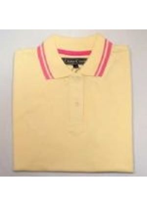 Ladies Assorted Cross Creek Polo - Yellow/Buttercup - Size M/12 (CC529)