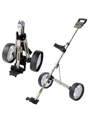 Stow A Way Folding Compact Golf Trolley