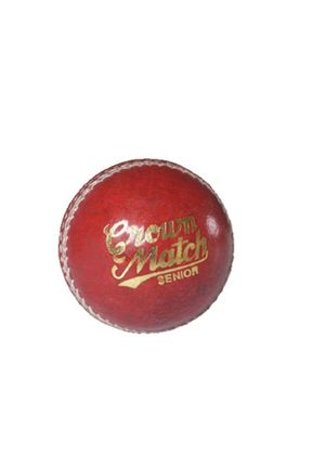 Crown Match Senior Cricket Ball - 5 1/2 oz
