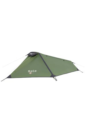 Solo Lightweight 1 Man Fishing/Back Packing/Camping Tent - Green/Black