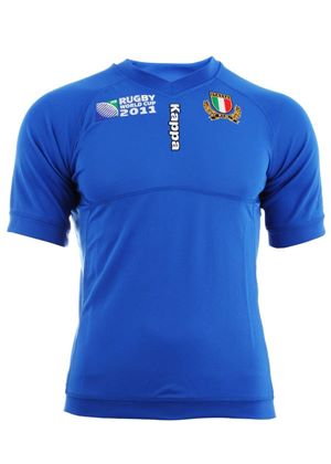 Italy Rugby Union Replica World Cup Home Shirt