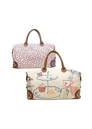 Flutters and Fancies Weekend Bag