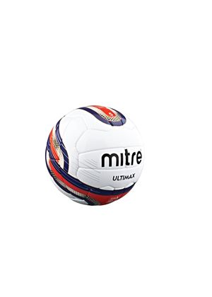 Ultimax Professional Football Size 5 - White/Red