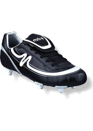 Infinity Junior (Screw In) Football Boots - Black/White