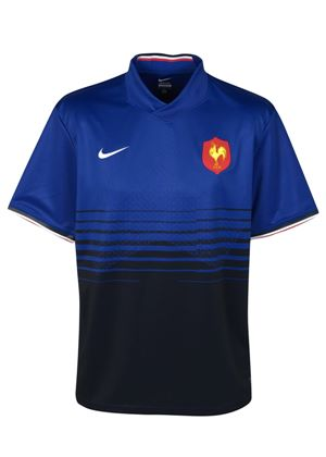 France Rugby Union Replica Home Shirt 2011 2012