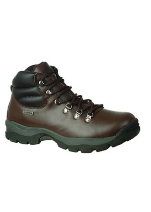 Men's Eurotrek Waterproof Hiking Boot - Dark Brown