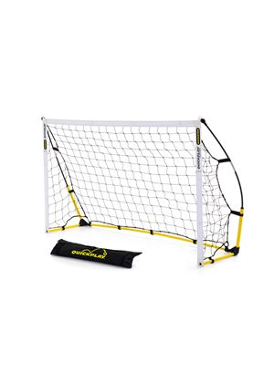 Kickster Academy 6 Ultra Portable Football Goal, Yellow - 6 x 4 ft