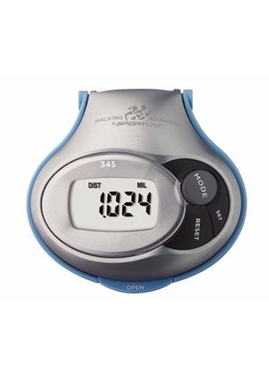 345 Step/Distance and Calorie Pedometer