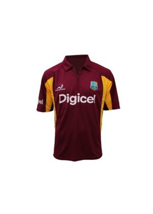 Official West Indies Cricket ODI One Day Replica Shirt - Mens