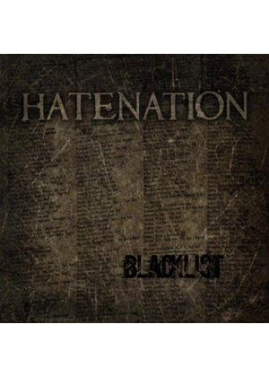 Hatenation - Blacklist (Music CD)