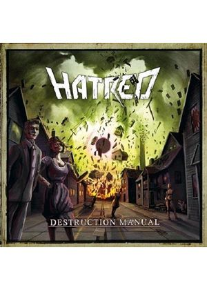 Hatred - Destruction Manual (Music CD)