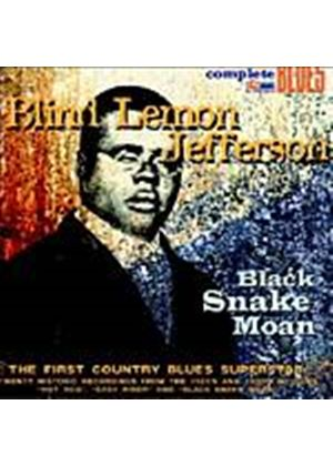 Blind Lemon Jefferson - Black Snake Moan (Music CD)