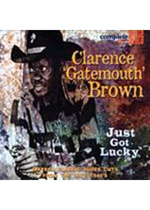 "Clarence ""Gatemouth"" Brown - Just Got Lucky (Music CD)"