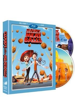 Cloudy With a Chance of Meatballs (Blu-Ray and DVD)