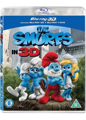 The Smurfs (Blu-ray 3D + Blu-ray + DVD)