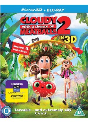Cloudy With A Chance Of Meatballs 2: Revenge Of The Leftovers (3D Blu-ray)