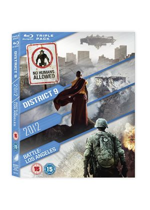 2012 / Battle: Los Angeles / District 9 (Blu-ray)