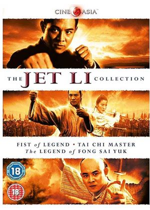 The Jet Li Collection (Fist of Legend, Tai Chi Master, The Legend of Fong Sai Yuk)