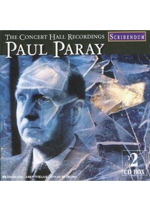 PAUL PARAY - CONCERT HALL RECORDINGS 2CD