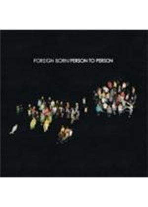 Foreign Born - Person To Person (Music CD)