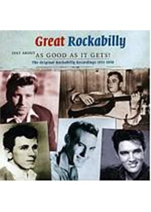 Various Artists - Great Rockabilly - Just About As Good As It Gets! (Music CD)