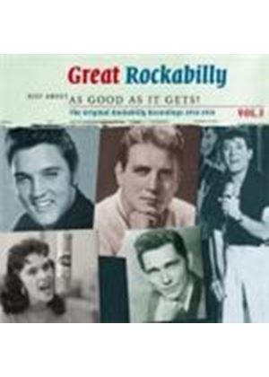 Various Artists - Great Rockabilly Vol.3 (Just About As Good As It Gets) (Music CD)