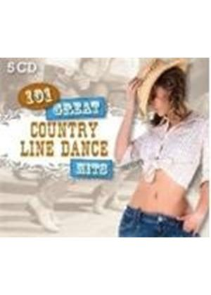 Various Artists - 101 Great Country Line Dance Hits (Music CD)