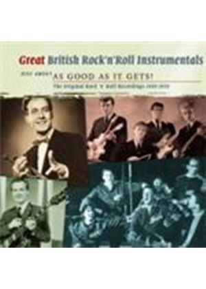 Various Artists - Great British Rock 'n' Roll Instrumentals Vol.1 (Music CD)