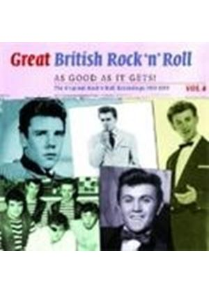 Various Artists - Great British Rock 'N' Roll Vol.4 (Just About As Good As It Gets) (Music CD)