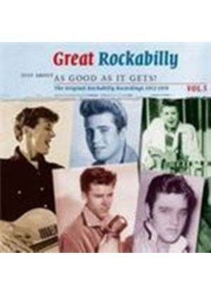 Various Artists - Great Rockabilly Vol.5 (Just About As Good As It Gets) (Music CD)