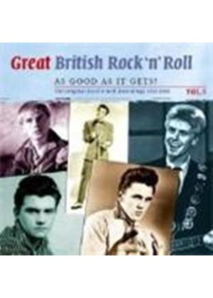 Various Artists - Great British Rock 'n' Roll Vol.5 (Just About As Good As) (Music CD)