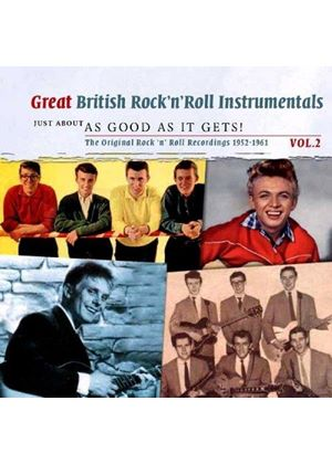 Various Artists - Great British Instrumentals Vol. 2 As Good As It Gets (Music CD)