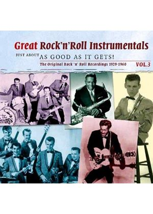Various Artists - Great Rock 'n' Roll Instrumentals, Vol. 3 (Music CD)