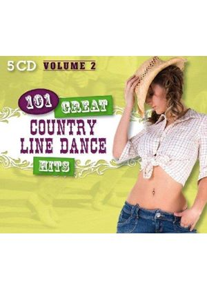 Country Dance Kings (The) - 101 Great Country Line Dance Hits, Vol. 2 (Music CD)