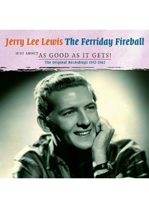 Various Artists - Jerry Lee Lewis, Just About as Good as It Gets! (Music CD)
